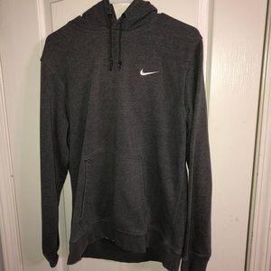 nike dark grey hoodie